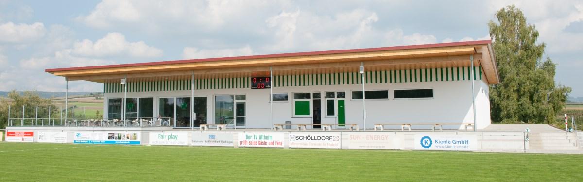 Das neue Sportheim