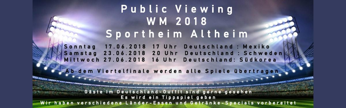 Fussball-Weltmeisterschaft 2018
