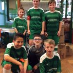 Die D-Jugend Mannschaft beim Turnier der SF Kirchen