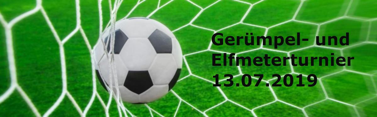 Gerümpel- und Elfmeterturnier 2019