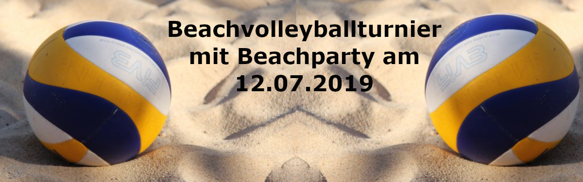 Beachvolleyballturnier 2019